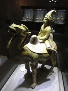 Statue of a Foreign Merchant, Tang Dynasty.