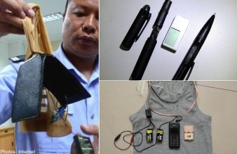 High tech cheating schemes that were detected in recent years.