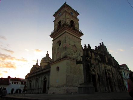 Iglesia de La Merced, Granada, built in 1534 represents the synthesis of Spanish and native culture.