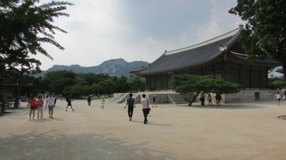 Gyeongbokgung Palace.