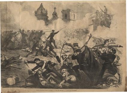 The Second Battle of Rivas.