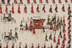 Royal procession of King Sejong the Great.