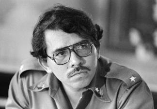 Daniel Ortega, Sandinista President of Nicaragua.