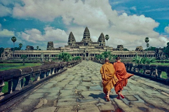 Angkor Wat. The massive wat (temple) at the heart of the Angkor complex.