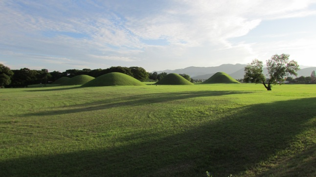 Royal Tombs at Gyeongju.