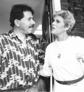 Daniel Ortega concedes electoral defeat and the Sandinistas transfer power peacefully to Violeta Chamorro and her UNO party, 1990.