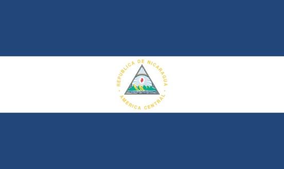 Nicaraguan flag.