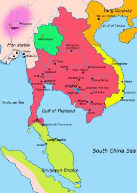 Khmer Empire, 900 AD