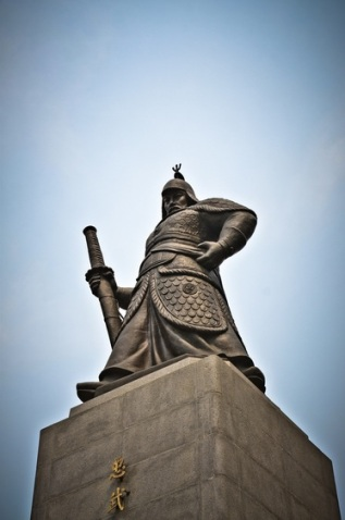 Admiral Yi, Gwanghwamun Square, Seoul.