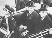 Luis Somoza Debayle with FDR.