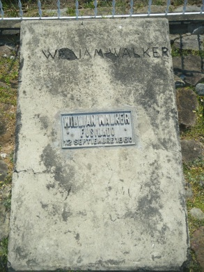 Walker's Tomb, Trujillo, Honduras.