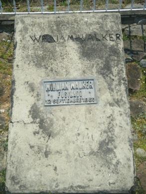 Walker's Tomb, Trujillo, Honduras.