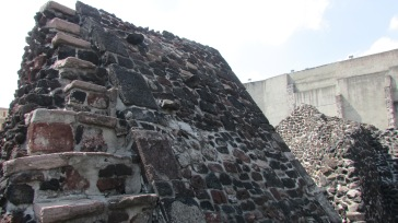 The ruins of the temple as they stand today.