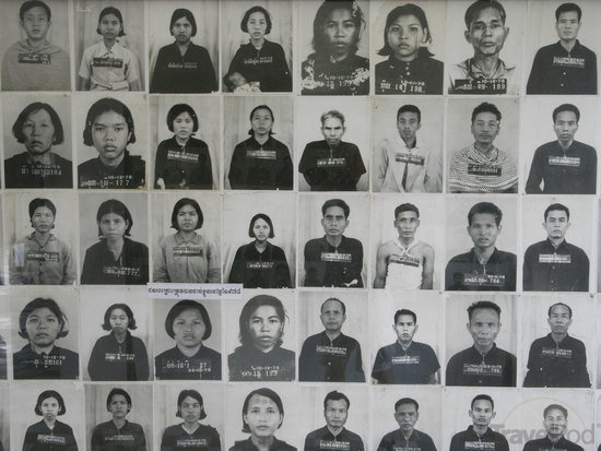 The faces of the New People, Tuol Sleng.
