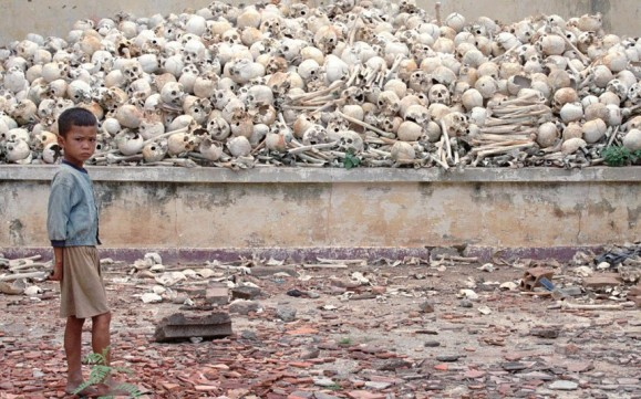 Evidence for genocide in Cambodia.