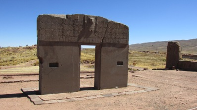 Tiwanaku, whose religious imagery and megalithic architecture directly prefigure those of the Inca.