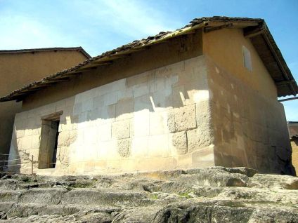 The so-called ransom room, located in Cajamarca, Peru.
