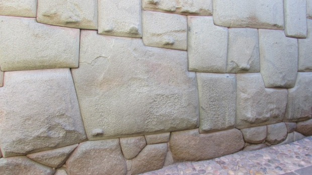 Twelve angle stone, in the Hatun Rumiyoc street of Cusco, is an example of Inca masonry.