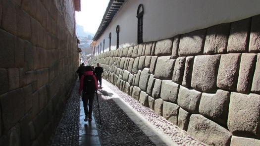Another Spanish convent built atop the palace of a Sapa Inca, Cusco, 2016.