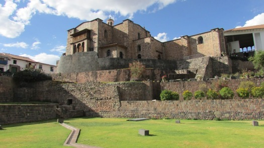 The sacred Inca temple of Qurikancha became the foundation of the Spanish convent of Santo Domingo during the colonial period.