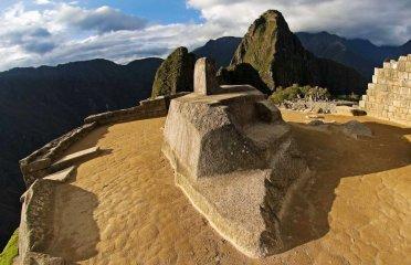 Inti Watana at Machu Picchu.