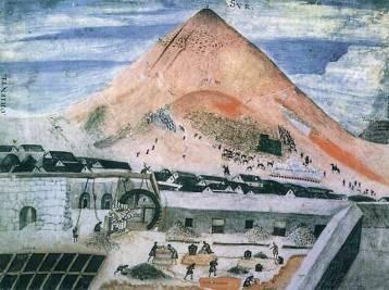 Cerro Rico with the Casa de Moneda in the foreground.