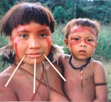 Yanomami_Woman_&_Child