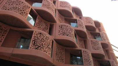 These balconies are designed to maximize airflow, shade, and privacy in one sustainable design.