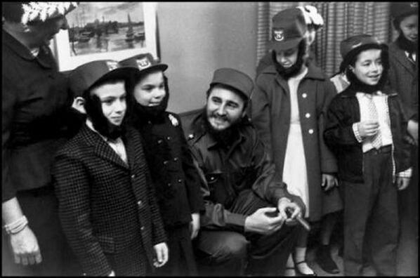 Castro in New York, 1959