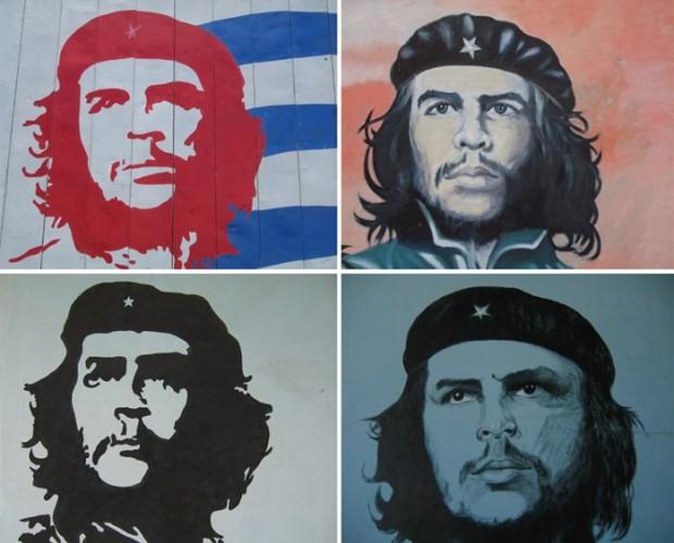 Four Che Faces