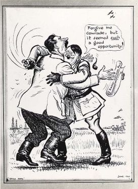 stalin political cartoon