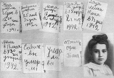 Tanya_Savicheva_Diary