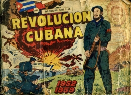 The front cover of Album de la Revolución Cubana, 1960.