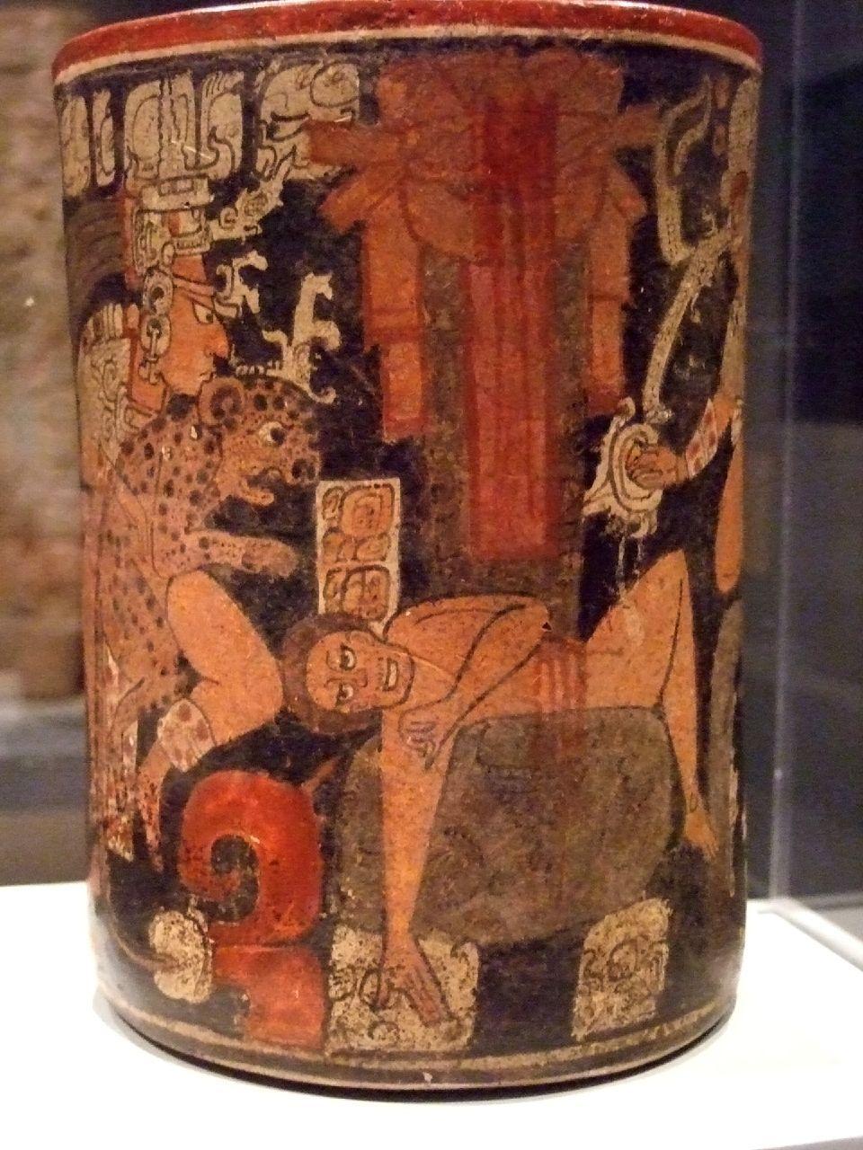 16 Interesting Facts About Maya Civilization  |Maya Sacrifice Stamp