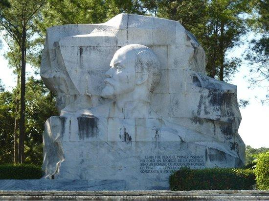 A statue of Lenin in Havana, Cuba.