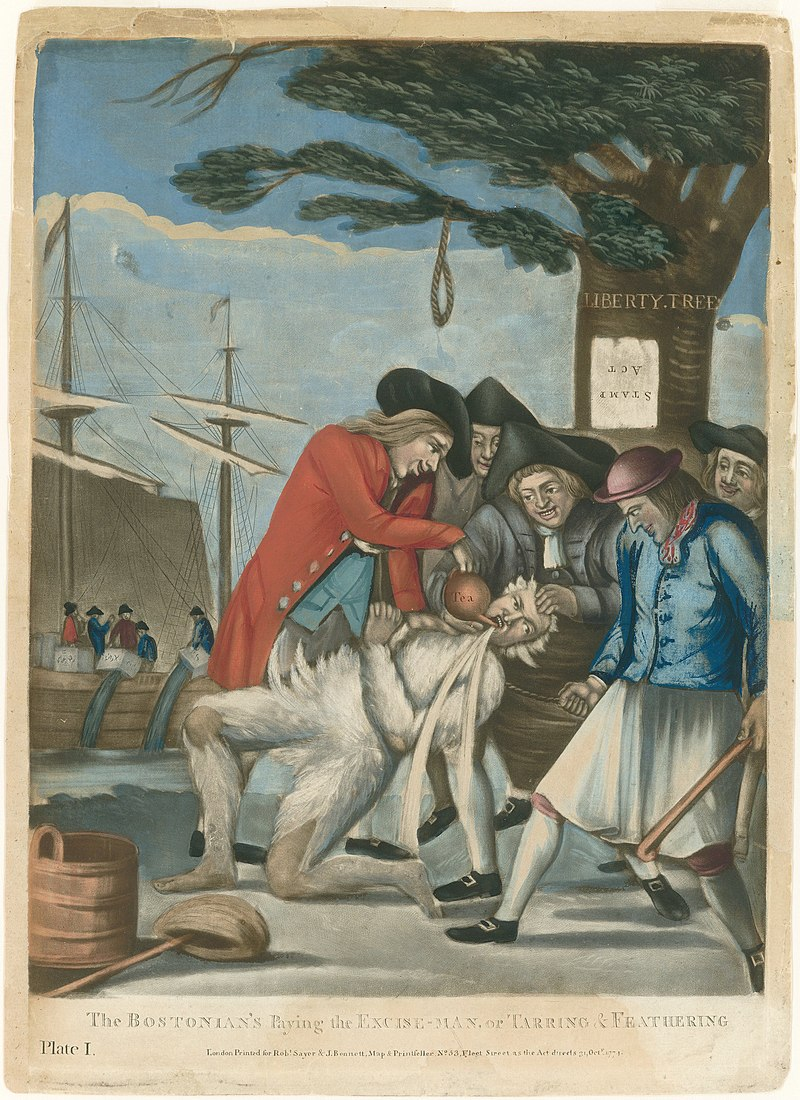 800px-Philip_Dawe_(attributed),_The_Bostonians_Paying_the_Excise-man,_or_Tarring_and_Feathering_(1774)_-_02