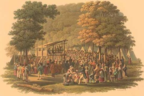 Methodist_camp_meeting_(1819_engraving)