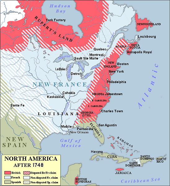 New France 1754