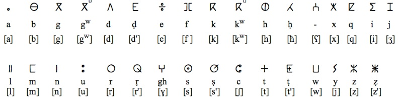 berber script