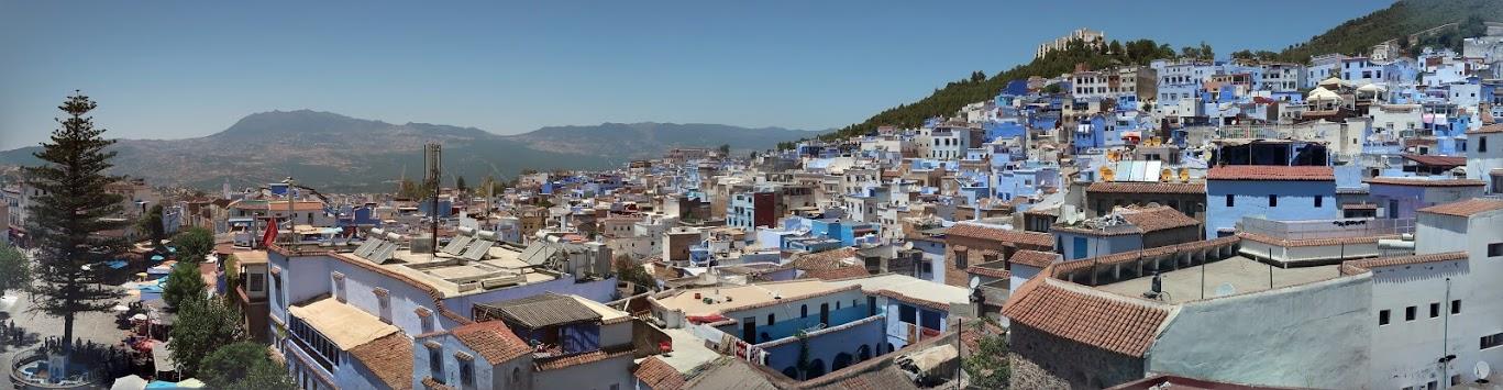 The Medina of Chefchaouen.