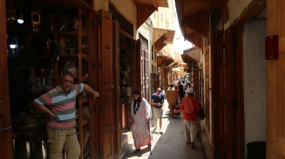 Under Idris, the souks - or markets - of Fes were flooded with trade goods from across the African and Mediterranean worlds.