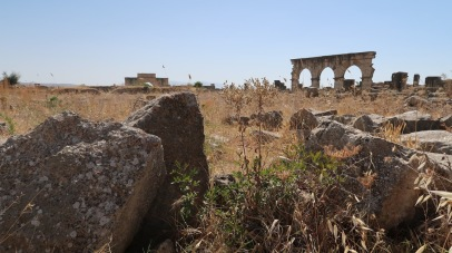The ruins remained substantially intact until they were devastated by an earthquake in the mid-18th century and subsequently looted by Moroccan rulers seeking stone for building Meknes. It was not until the latter part of the 19th century that the site was definitively identified as that of the ancient city of Volubilis.
